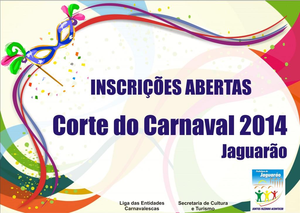 Corte Carnaval 2014